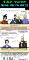 Hetalia second mexican empire by chaos-dark-lord