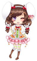 AT: Shiori for Marmaladecookie by TheScarletDevil