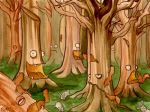 The Woods by frowzivitch