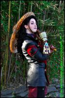 Asami Cosplay: Bamboo Forest by Mink-the-Satyr