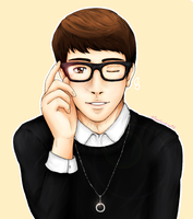 [B2ST] ~Son Dongwoon~ by IperGiratina98