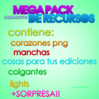 MEGA PACK DE RECURSOS by TeamResources