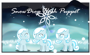 Snowdrop puppet by Mare--In--The--Moon