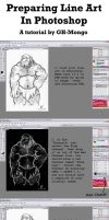 Preparing Line Art in PS by GH-MoNGo