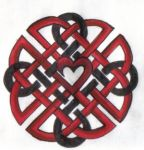 Celtic Heart Knot by ReaperXXIV