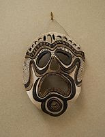 AFRICAN MASK by CorazondeDios