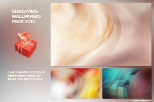 Christmas wallpapers pack 2010 by JK89