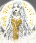 Lyuwa - Goddess of life and creation by Webmegami
