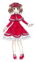 Cake Winter Lolita Dress by Nisai