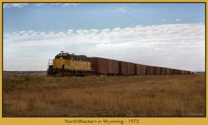 NorthWestern in Wyoming by classictrains