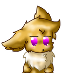 Chibi Eevee (Transparent background testing) by Reyna174