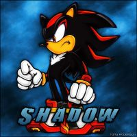 Shadow the Hedgehog by TonyAnderson