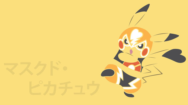 Pikachu Libre by DannyMyBrother