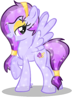 OC Overhaul: Tanzanite Star by equinepalette