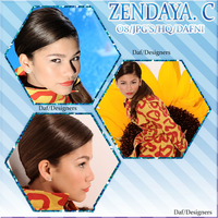 Pack JPG de Zendaya.C By Dafni by EditionsColorful