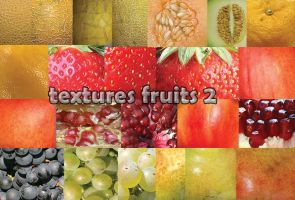 Textures Fruits 2 by roula33
