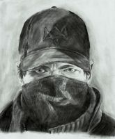 Watch Dogs- Aiden Pearce by zakValkyrie