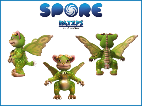 Spore custom creature download - Pateps by Angi-Shy