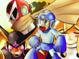 Go Megaman by CheloStracks