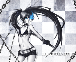 Black Rock Shooter by TheAngelOfMemories