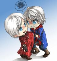 Devil May Cry Dante and Nero by SniperElite90