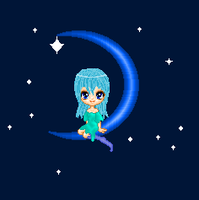 Blue Moon pixie by HavensGoneMad