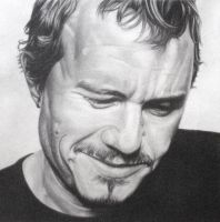 Heath Ledger Ledgernd by monstarart