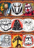 Revenge of the Sith Cards by grantgoboom