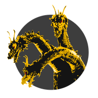King Ghidorah - Token by Snizitch