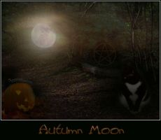 Autumn Moon by trinitylast