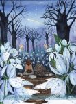 Snowdrops and Shooting Star by JoannaBromley