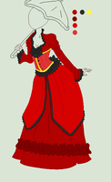 Custom Outfit Adopt - 1800 Dress by ShadowInkAdopts