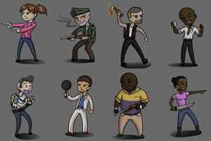 Left 4 Dead 1 and 2: Survivors by PrettyRedWolf