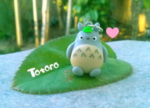 Totoro Phone Strap by Octopop-n-Aicing