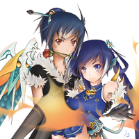 [Elsword] Commission again! by redmaple928