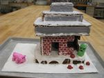 Derpy Minecraft Gingerbread House by yexy