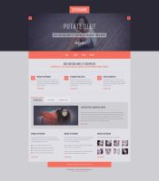 Free PSD Template by rafimit