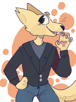 Gregg is cool ok by Pixiepann