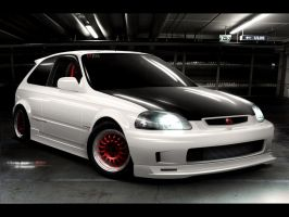 Civic 6gen JDM by MarlboroDesign