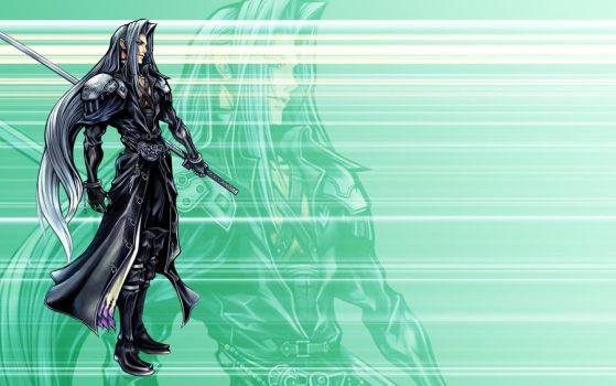 Sephiroth Wallpaper by TheLotusClown