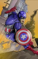 CaptainAmerica by stikkmann