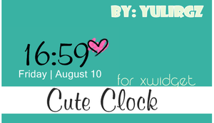 Cute Clock by YuliRgz