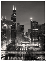 chicago by night by photobox