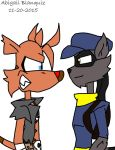 Sly the tasmanian tiger meets sly cooper by Kova360