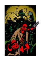 Hellboy - The Darkness by KFelton