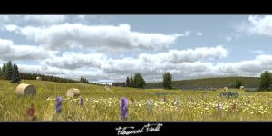 Flowered field by c-ramgfx