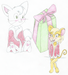 Chris the Kitty and Fidel-Merry Christmas everyone by ChrisTheKitty