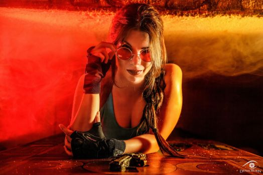 Lara Croft - I make my own luck by Anastasya01