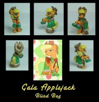 blind bag Gala Applejack by MLPEndlessNight