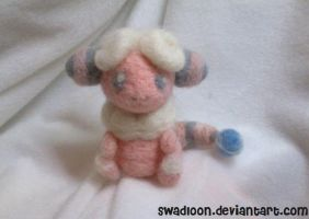 Needlefelted Flaafy by Swadloon